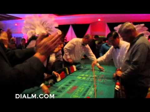Video Roulette table hire glasgow