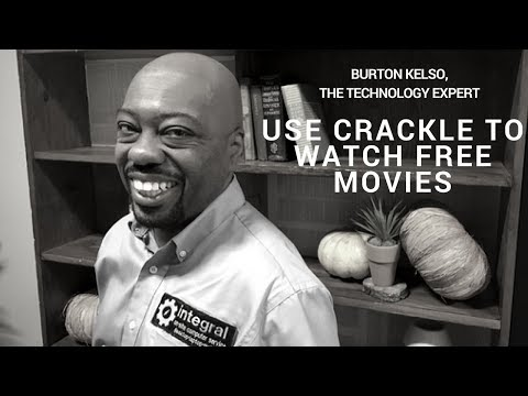 Tech Tips for Non-Tech People | Use Crackle to Watch Free Movies.