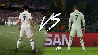 FIFA 17 vs REAL LIFE - SKILLS & GOALS HD