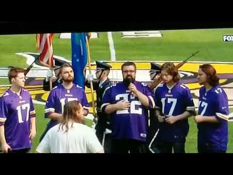 Home Free National Anthem 9/24/17