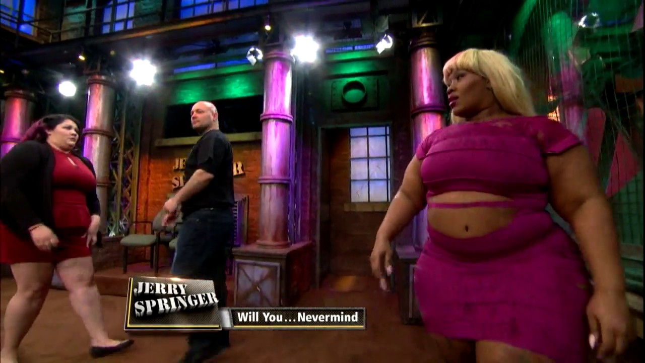 main chick takes on side chick (the jerry springer show) - youtube