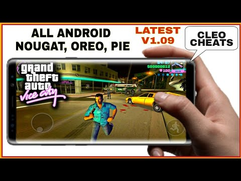 How To Download GTA Vice City On Android Free Latest V1.09  Gta Vice City All Cheats  With Gameplay