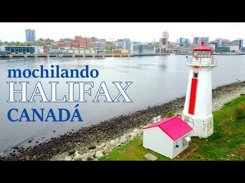 Mochilando em Halifax, no Canadá pela primeira vez!