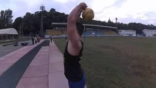 Упражнения с гирями на трицепс. Гиревой фитнес.