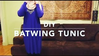 DIY| Batwing Tunic (Quick & Easy!)