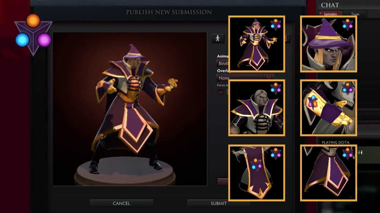 I Made A Set For Invoker Garments Of The Rogue Wizard