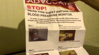 Advocate Wrist Blood Pressure Monitor Review