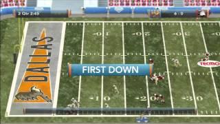 Tecmo Bowl Throwback Preseason Game