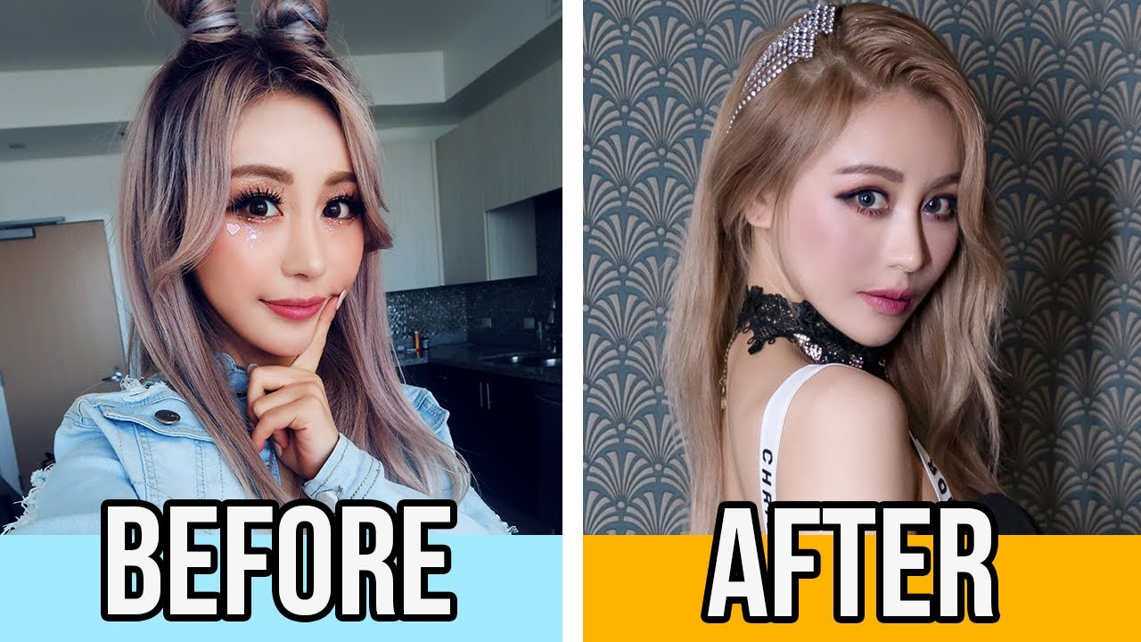 I got a Kpop Makeover where BTS & Twice get their hair and makeup done! $300 Korean style Glow up!