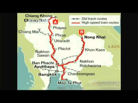 High-Speed train to link China & Thailand