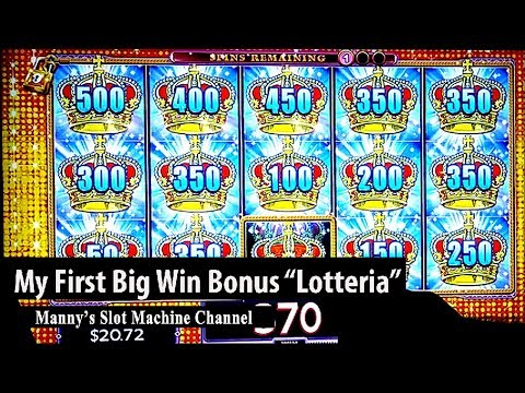 Lock It Link (Lotteria) By WMS  Big Win!! Bonus At Barona Casino