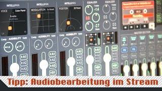 (USB-)Mikrofon live für den Stream am PC bearbeiten – Voicemeeter Banana (Rode NT-USB)