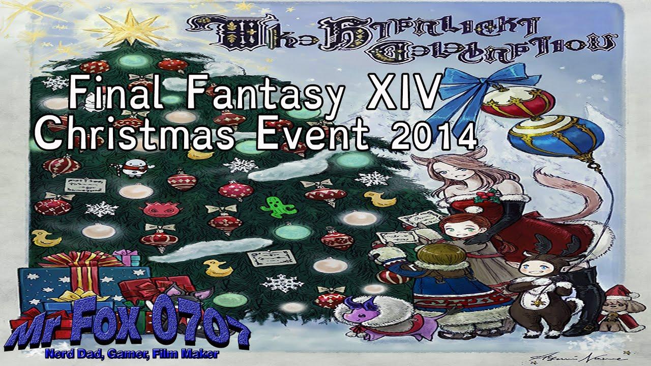 Final Fantasy XIV-Star Light Festival (Christmas Event) 2014 - YouTube