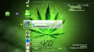 My Weed Theme on ps3 :)