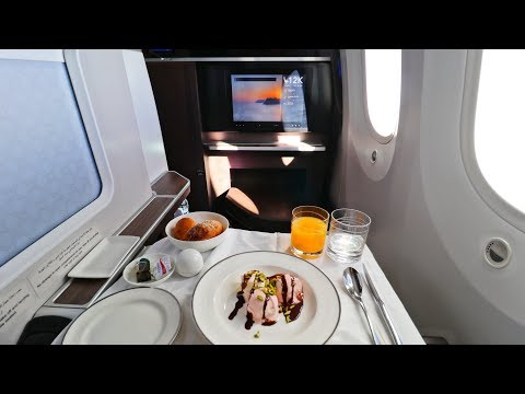 My Favorite Business Class (So Far) | OMAN AIR - Muscat to Frankfurt Boeing 787-9