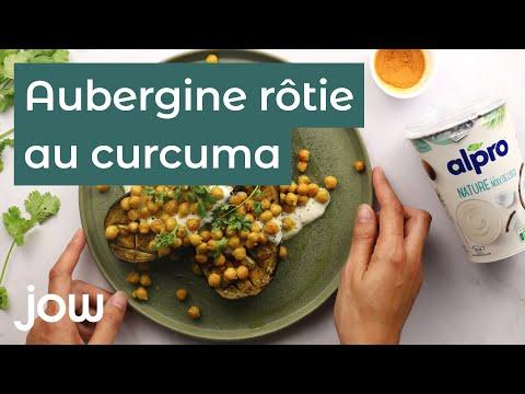 aubergine-rôtie-au-curcuma