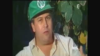 مقابلة صحفية لقناة فرنسية  مع بابلو اسكوبار  سنة 1987 HD