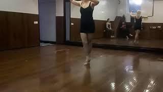 Энроске, резюме урока. Женская техника танго с Екатериной Коптеловой.