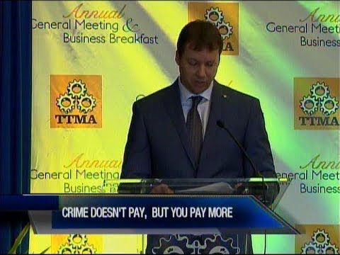 TTMA Concerned   Crime Affecting Cost Of Goods