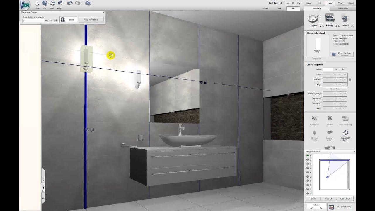 en]: cad plan import into visoft premium 3d rendering software, Wohnzimmer dekoo