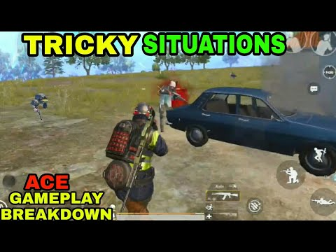 TRICKY SITUATIONs | PUBG MOBILE GAMEPLAY BREAKDOWN | (ACE)