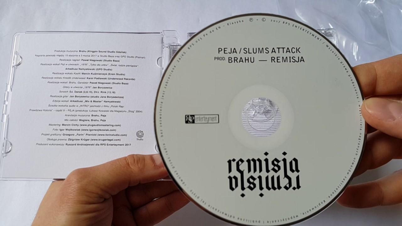"""Unboxing: PEJA / SLUMS ATTACK """"REMISJA"""""""