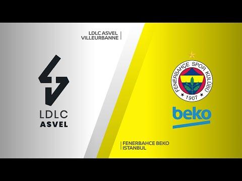 LDLC ASVEL Villeurbanne - Fenerbahce Beko Istanbul Highlights   EuroLeague, RS Round 28