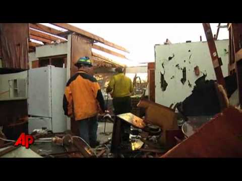 Raw Video: Search and Rescue Amid Joplin Ruins