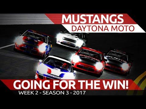 Mustangs @ Daytona Moto iRacing