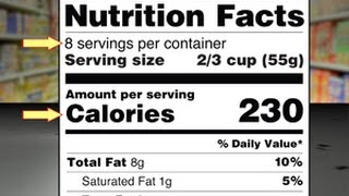 Reading and Understanding the New Food Label (excerpt) MotionMasters.com