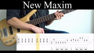 New Maxim (The Intersphere) - Bass Cover (With Tabs) by Leo Düzey