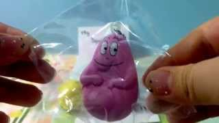 My squishy collection (barbapapa, ibloom)