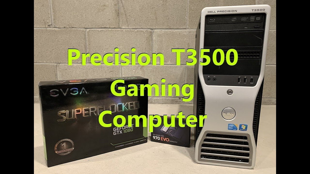 Precision T3500 Gaming Computer (GTX 1080 and NVME 2 Install)