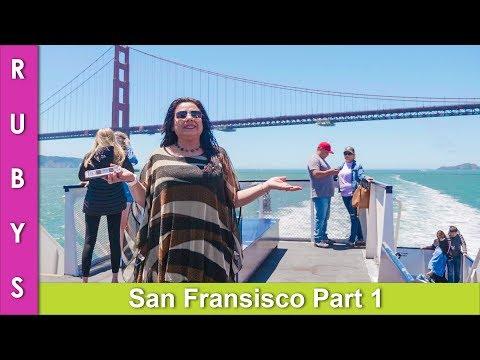 Vacation VLOG San Francisco Cruise To Golden Gate Bridge Part 1 In Urdu Hindi   RKK