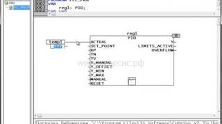 Часть 22: Работа с функциональным блоком  ПИД регулирования