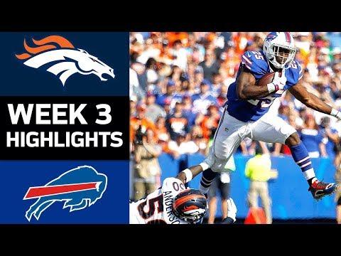 Broncos vs. Bills | NFL Week 3 Game Highlights