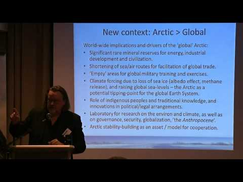The Trans-Arctic Agenda 2014 - Day 1 (Part 2/2)