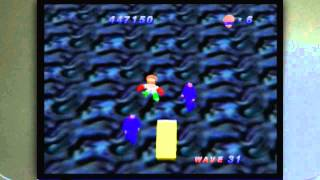 Robotron 64 on the Nintendo 64