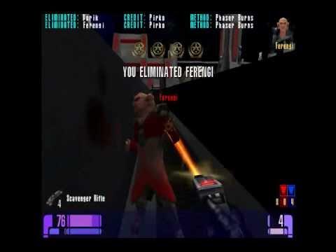 Lets play Star trek: Elite Force multiplayer: capture the flag!