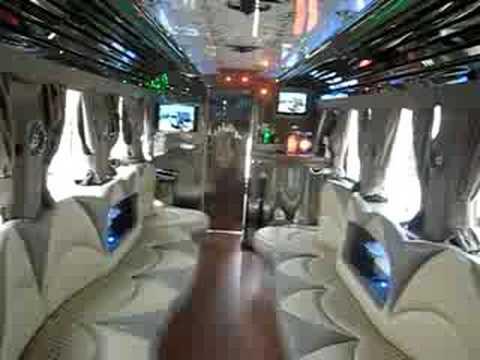 40 Passenger Party Bus Limousine Los Angeles LA Ca