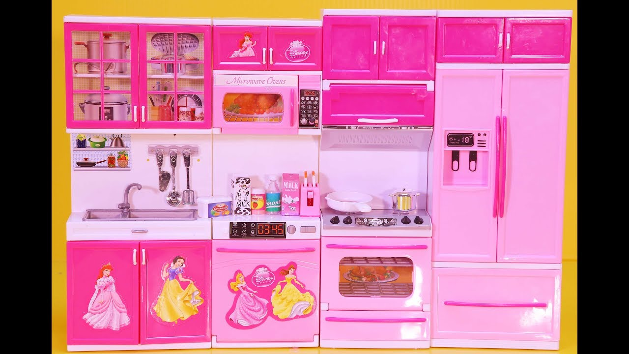 Baby Doll Toys Kitchen Set Cooking my modern kitchen miniature ...