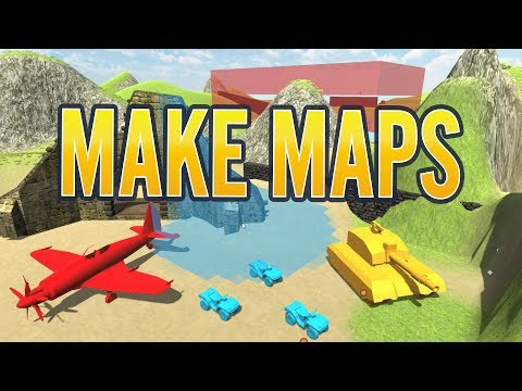 Ravenfield Easy Map Making Tutorial | Beginner Level Building Guide Complete (MAKE MAPS)