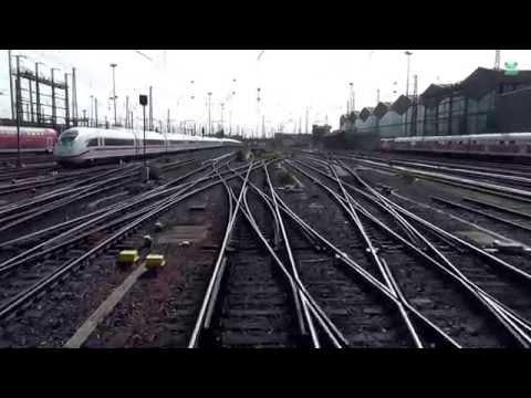 Führerstandsmitfahrt von Frankfurt Hbf nach Bingen Hbf - DB Bahn Nr. 43 - Stwg