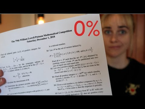 America's toughest math exam