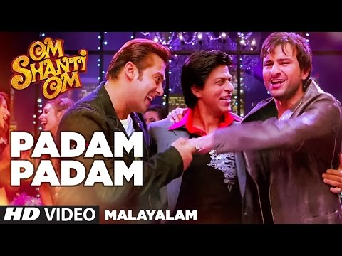 Padam Padam Full Video Song || Om Shanti Om || Shahrukh Khan,Deepika Padukone