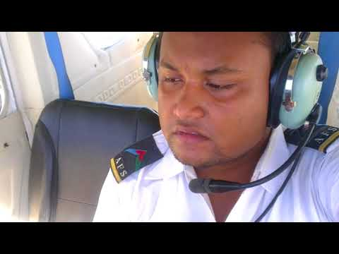 C152 aircraft solo flight near chittagong airport