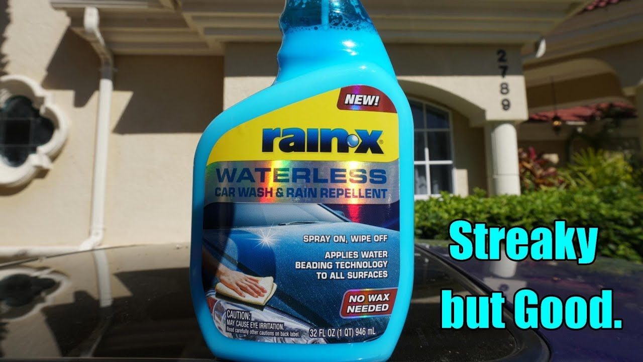 RainX Waterless Car Wash and Rain Repellent Review on my Honda Prelude
