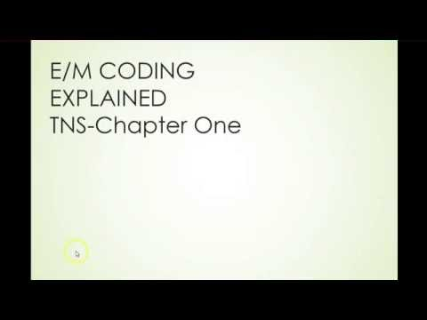 BC3020 Week 1 EM coding explained