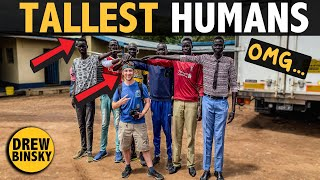TALLEST HUMANS on Earth (South Sudan)