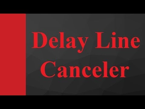 Delay Line Canceler With Mti Radar In Microwave Radar